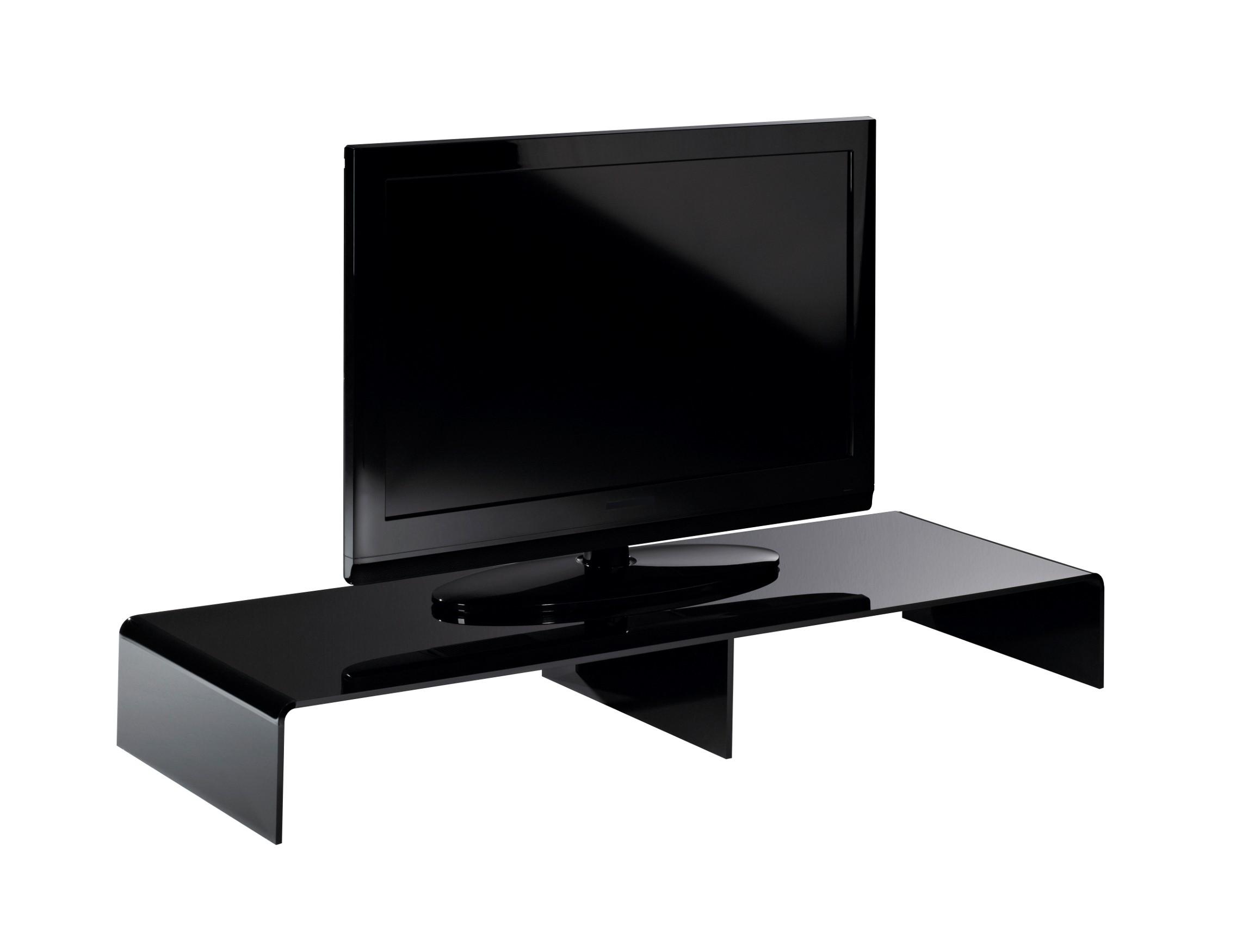 tv konsole new york breite 80 cm acrylglas schwarz wohnen tv m bel tv lowboards. Black Bedroom Furniture Sets. Home Design Ideas