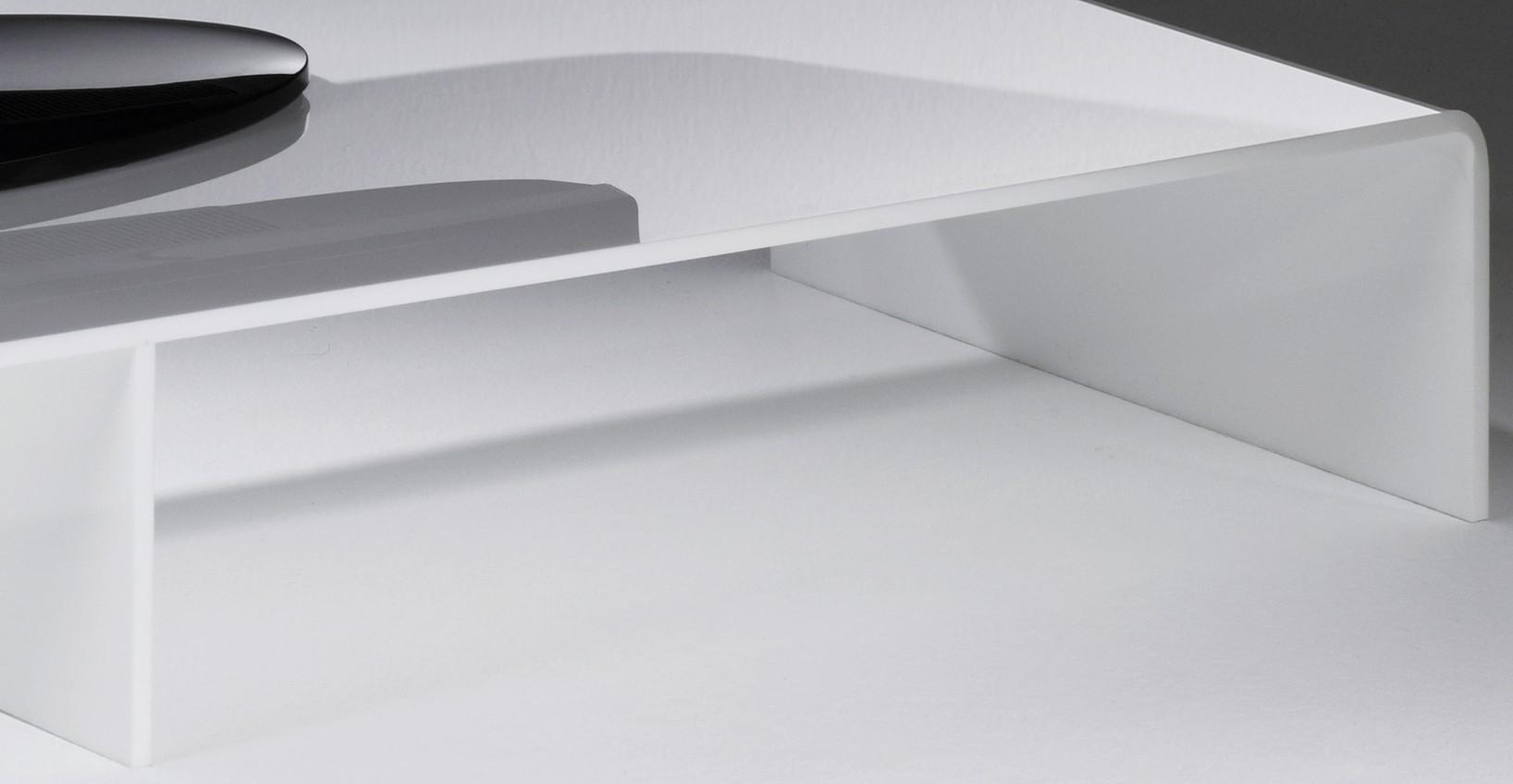 tv konsole new york breite 80 cm acrylglas wei wohnen. Black Bedroom Furniture Sets. Home Design Ideas