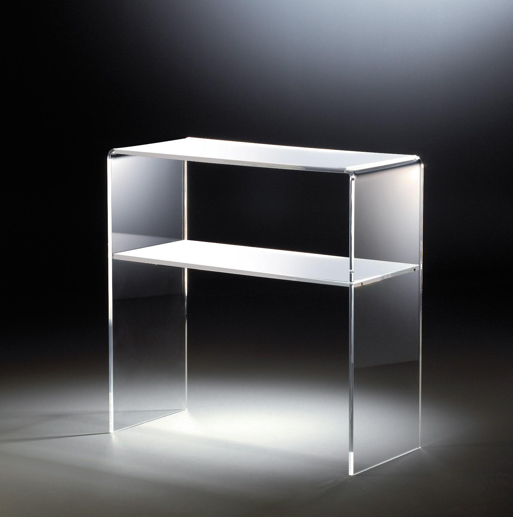 Beistelltisch vegas konsole 70 cm aus acrylglas for Beistelltisch 70 cm