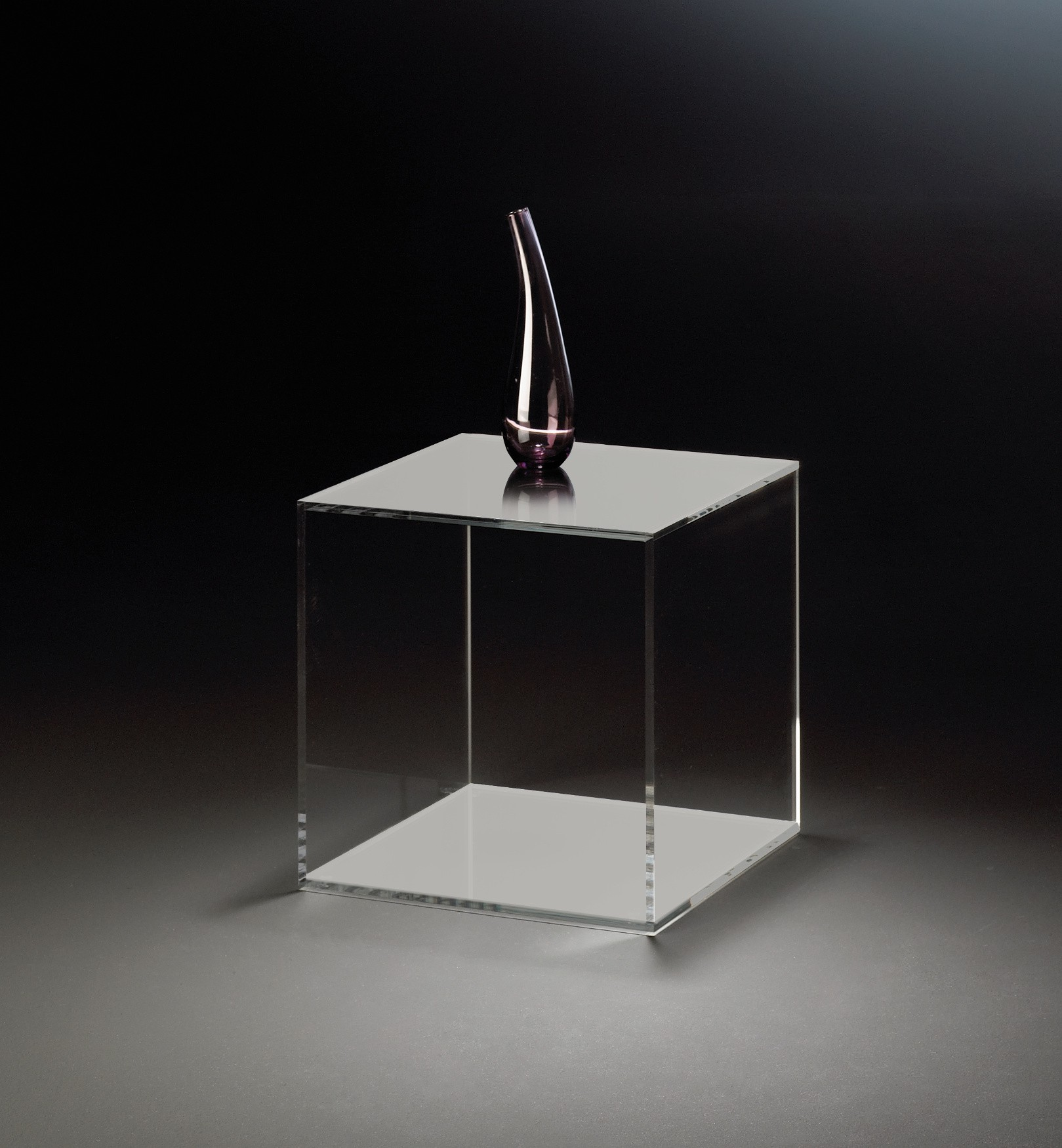 acrylw rfel vegas w rfel beistelltisch 35 cm aus acrylglas. Black Bedroom Furniture Sets. Home Design Ideas