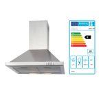 Küchenzeile VAREL - Küche mit E-Geräten - Breite 210 cm - Hochglanz Bordeaux Rot
