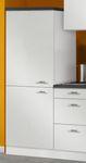 Singleküche GRANADA - mit Glaskeramik-Kochfeld - Breite 160 cm - Weiß