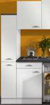 Singleküche GRANADA - Vario 2 - mit Glaskeramik-Kochfeld - Breite 180 cm - Weiß