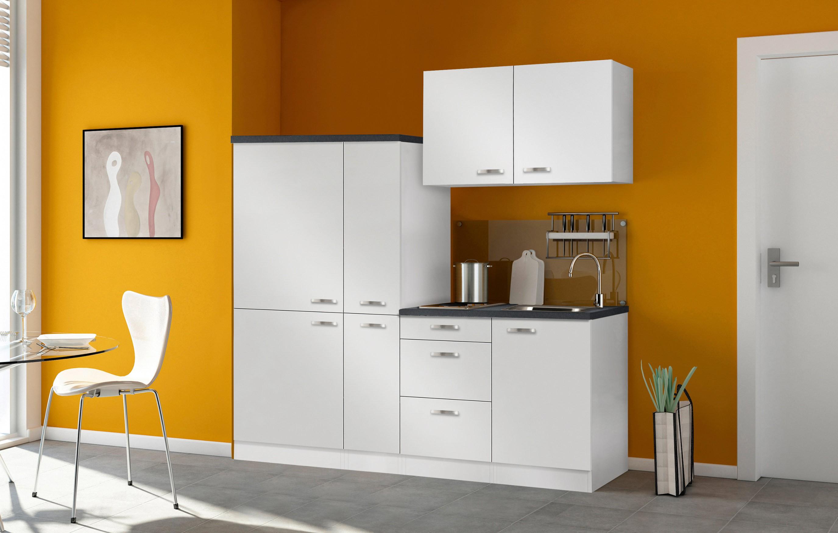Miniküche Mit Kühlschrank Ohne Kochfeld : Singleküche granada mit elektro kochfeld breite cm weiß