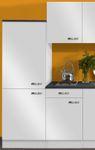 Singleküche GRANADA - Vario 2 - Glaskeramik - 9-teilig - Breite 210 cm - Weiß