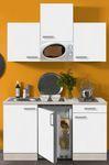 Singleküche BARCELONA - Vario 1 - mit Mikrowelle - Breite 150 cm - Weiß