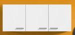 Singleküche BARCELONA - Glaskeramik-Kochfeld - 8-teilig - Breite 150 cm - Weiß
