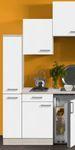 Singleküche BARCELONA - Vario 1 - Glaskeramik-Kochfeld - Breite 180 cm - Weiß