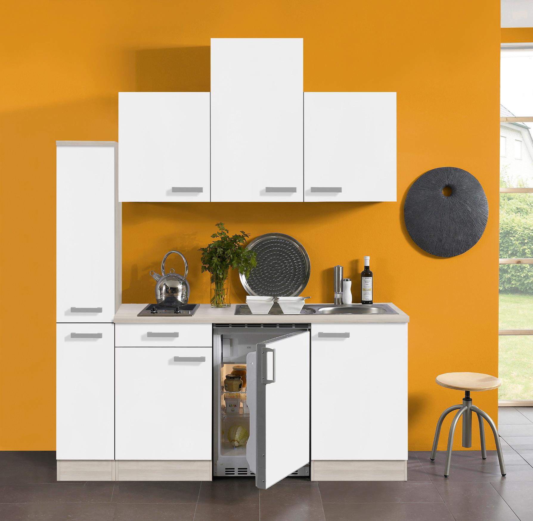 singlek che barcelona vario 2 glaskeramik kochfeld breite 180 cm wei k che singlek chen. Black Bedroom Furniture Sets. Home Design Ideas