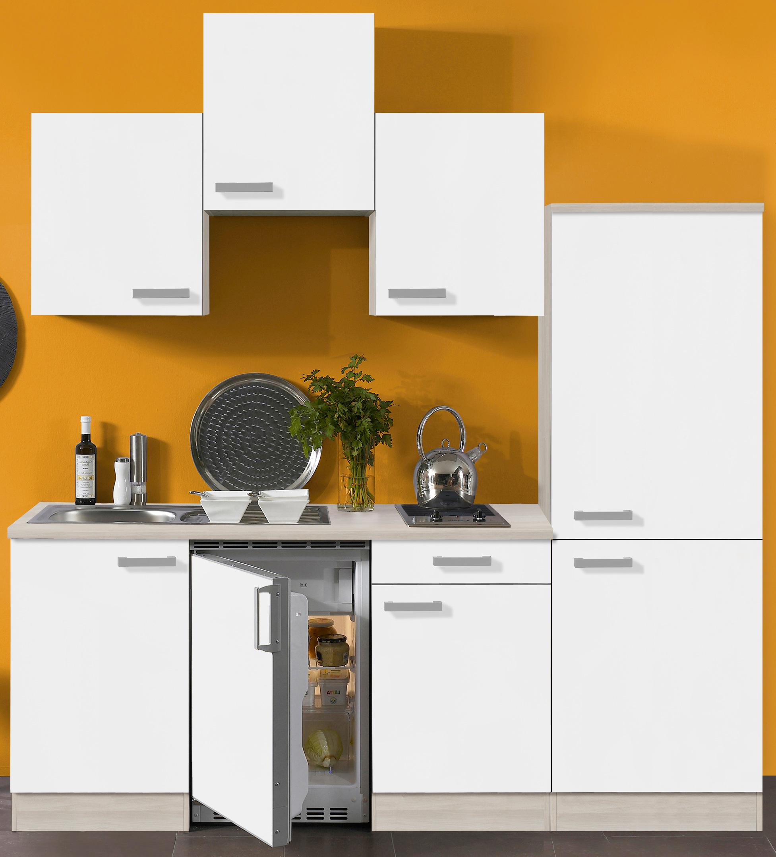 singlek che barcelona vario 1 glaskeramik kochfeld breite 210 cm wei k che singlek chen. Black Bedroom Furniture Sets. Home Design Ideas