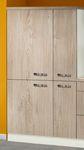 Singleküche TOLEDO - mit Glaskeramik-Kochfeld - Breite 190 cm - Eiche Sägerau