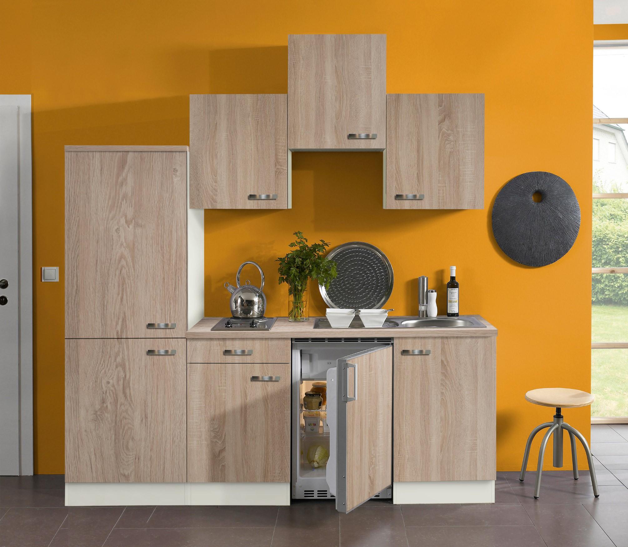 singlek che toledo vario 1 mit elektro kochfeld. Black Bedroom Furniture Sets. Home Design Ideas
