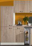 Singleküche TOLEDO - Vario 1 - Glaskeramik - 9-teilig - Breite 210 cm - Eiche