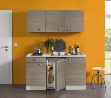 singlek che toledo glaskeramik kochfeld 8 teilig breite 150 cm pinie k che singlek chen. Black Bedroom Furniture Sets. Home Design Ideas