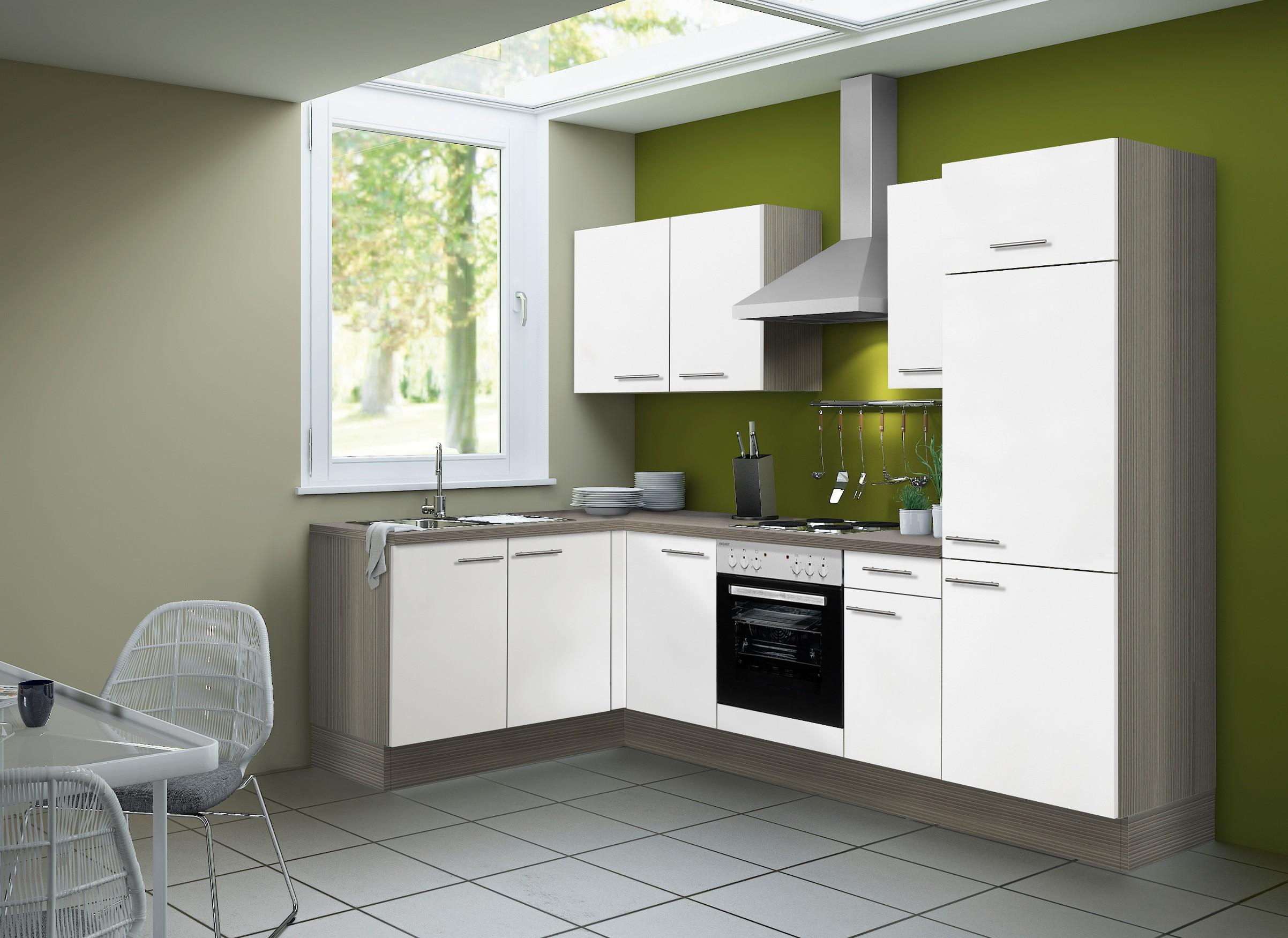 l form k che winkelk che mit ger ten k chenzeile mit. Black Bedroom Furniture Sets. Home Design Ideas