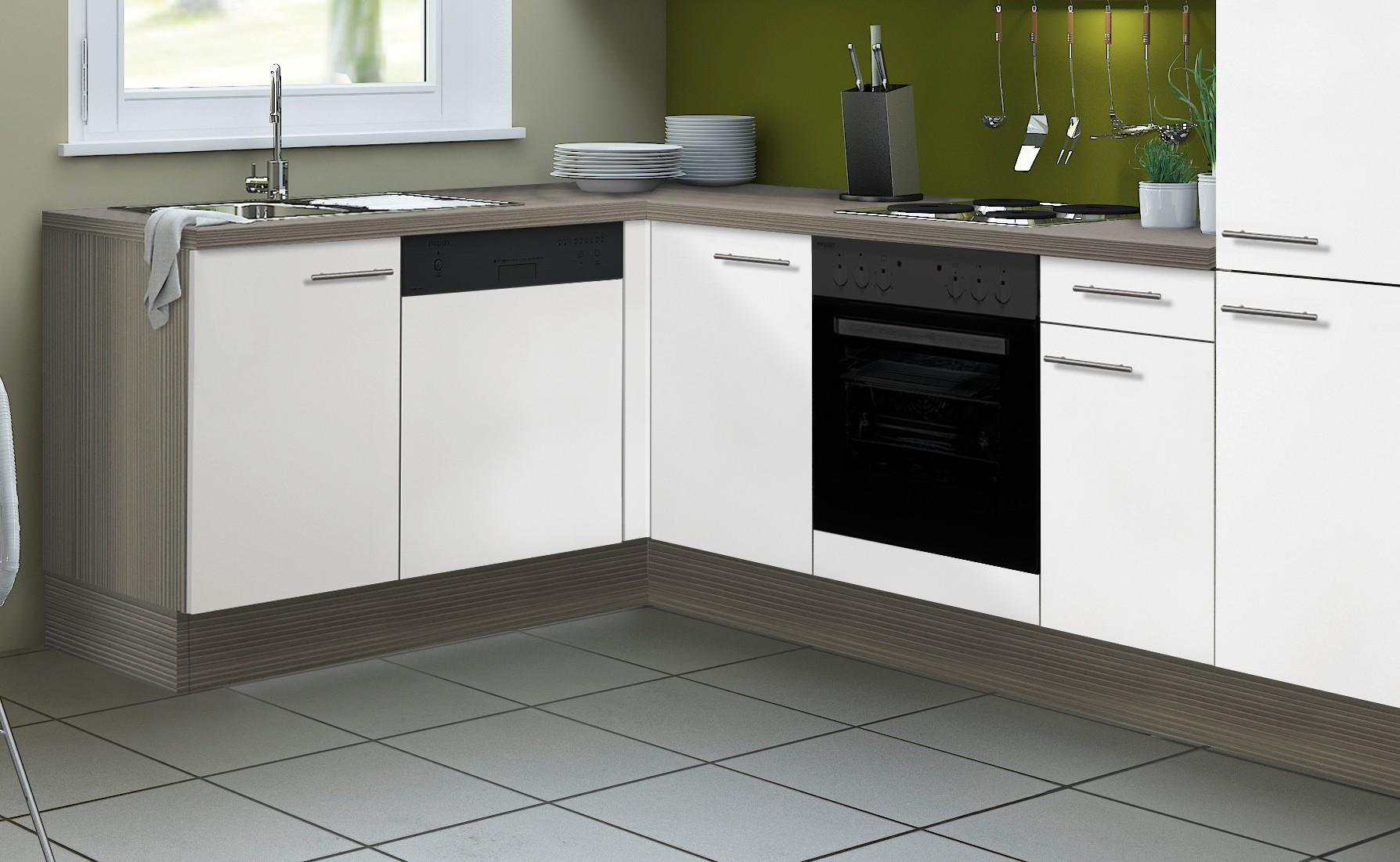 Eckküche CADIZ - Vario 2 - L-Küche ohne E-Geräte - Breite 270 x 175 ...