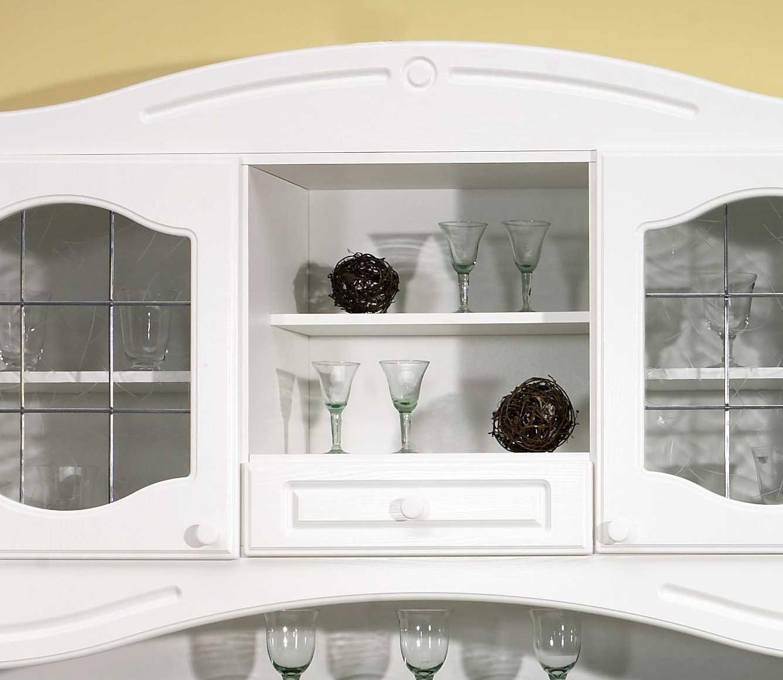 Küchen-Buffetschrank LIST - 150 cm breit - Weiß Küche Küchen ...