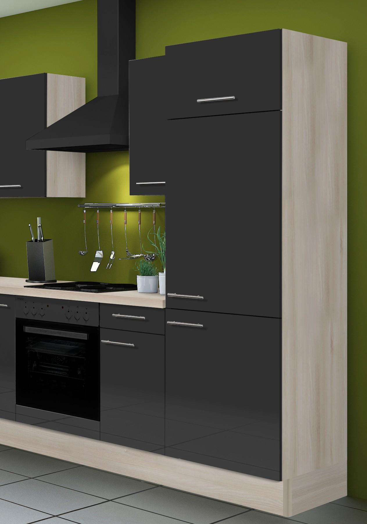 Eckküche LEON - Vario 2 - L-Küche ohne E-Geräte - Breite 270 x 175 ...