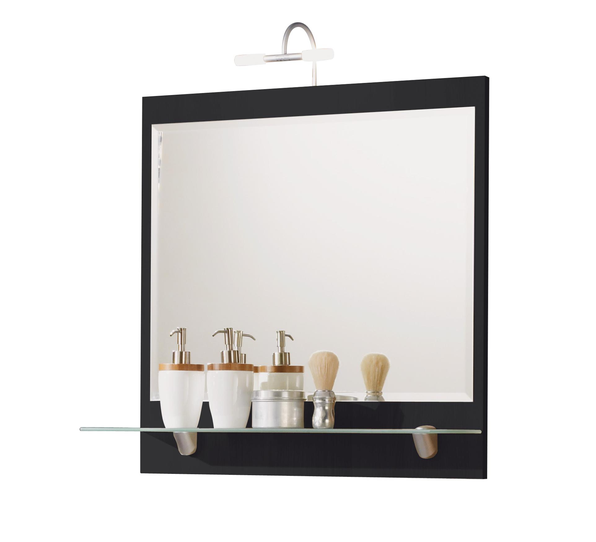 Posseik badezimmer spiegel salona spiegelpaneel ablage for Spiegel ablage badezimmer