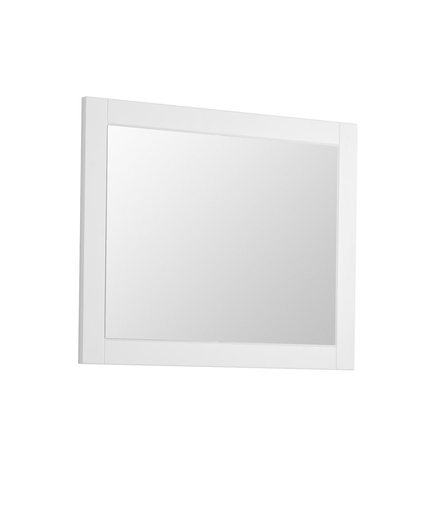 Bad spiegel barolo 80 cm breit wei matt bad for Spiegel 80 cm breit