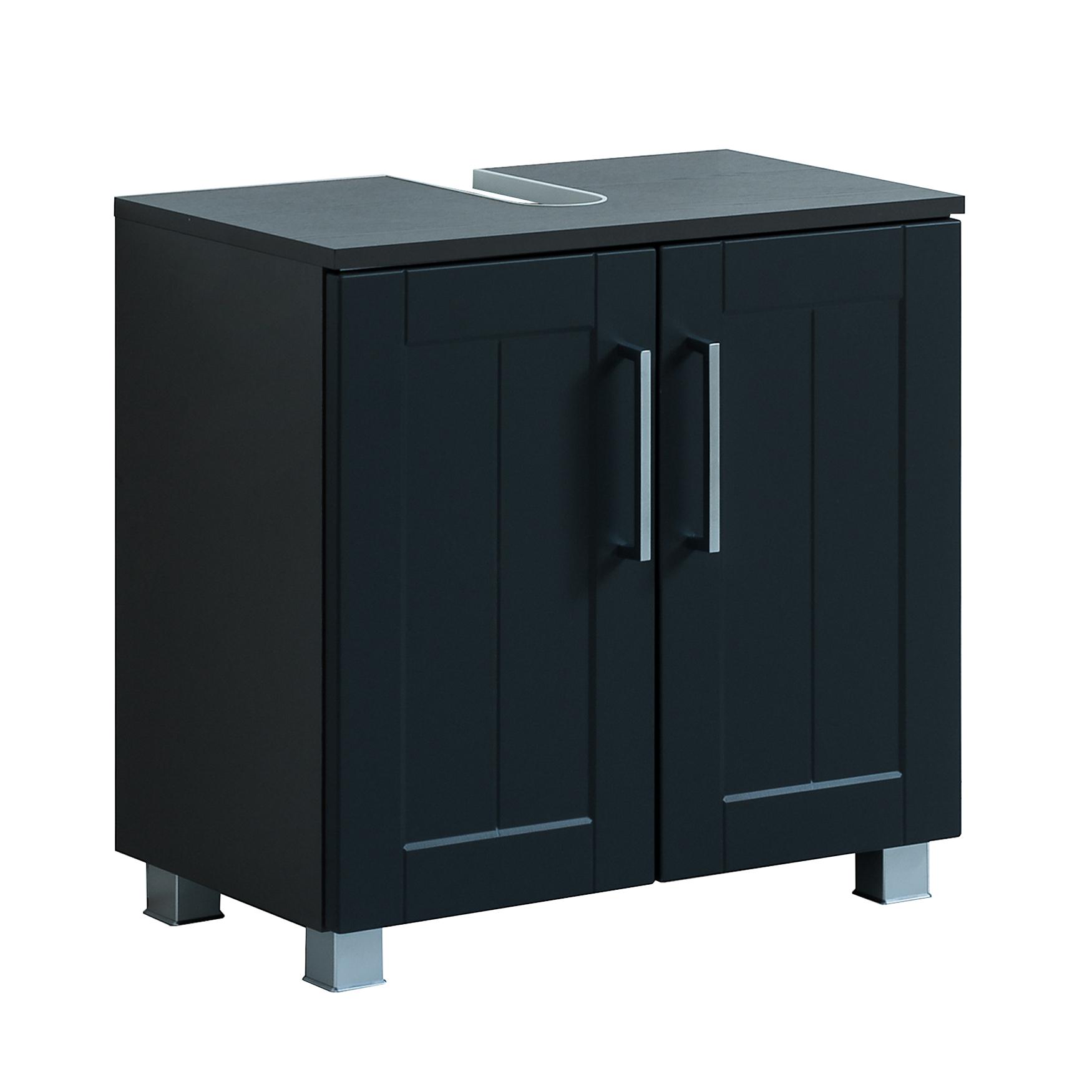 bad waschbeckenunterschrank barolo 2 t rig 60 cm breit. Black Bedroom Furniture Sets. Home Design Ideas