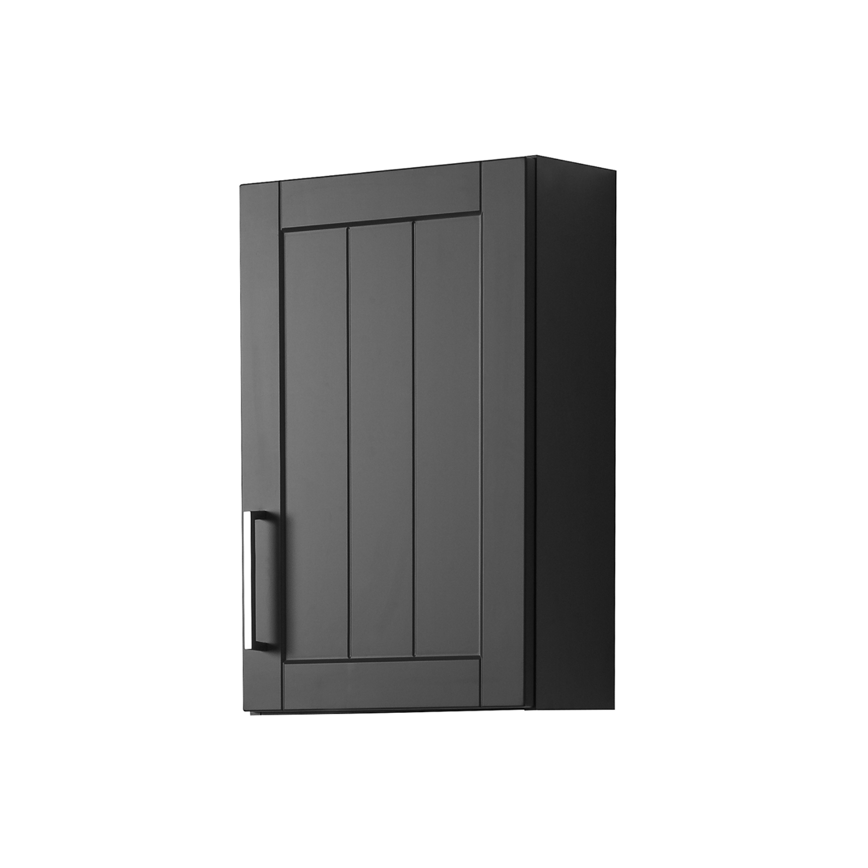 bad h ngeschrank barolo 1 t rig 40 cm breit grau matt bad bad h ngeschr nke. Black Bedroom Furniture Sets. Home Design Ideas