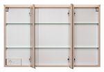 Badmöbel-Set FONTANA - mit Waschtisch - 6-teilig - 180 cm breit - Buche