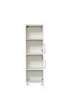 Badmöbel-Set BAROLO - 8-teilig - 220 cm breit - Weiß Matt