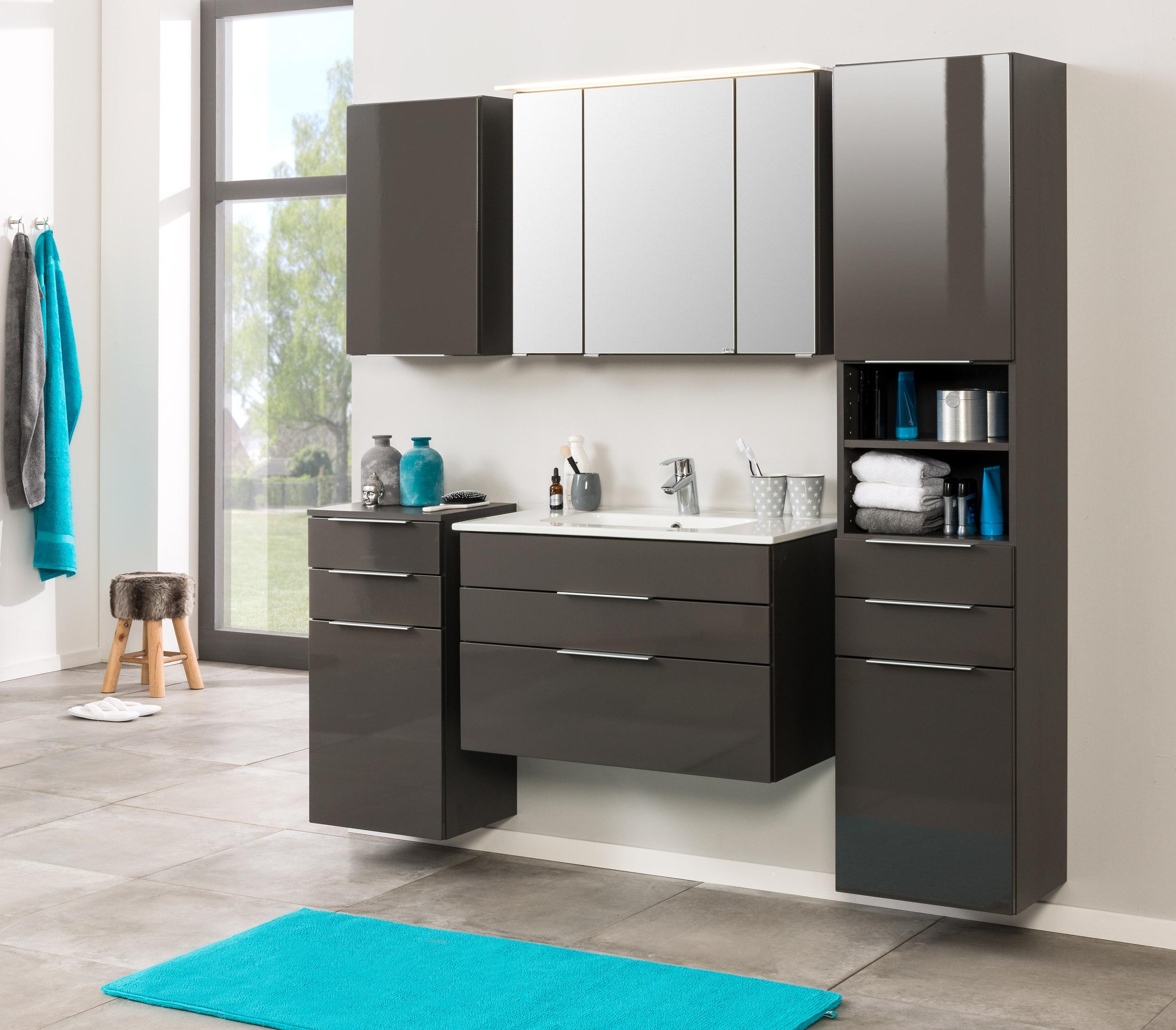 bad h ngeschrank ravello 1 t rig 40 cm breit grau bad bad h ngeschr nke. Black Bedroom Furniture Sets. Home Design Ideas