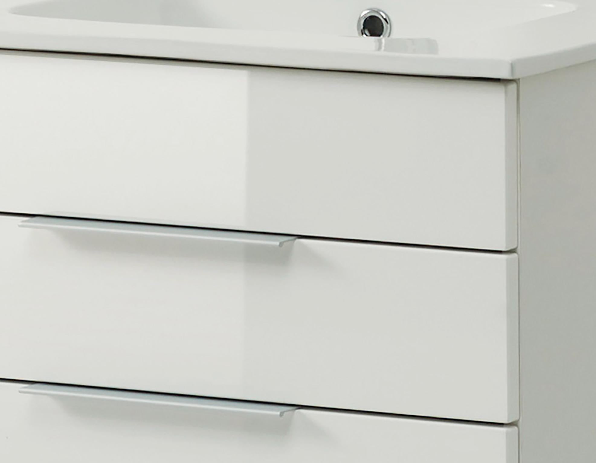 badm bel set ravello mit keramikbecken 4 teilig 60 cm breit wei bad badm belsets. Black Bedroom Furniture Sets. Home Design Ideas