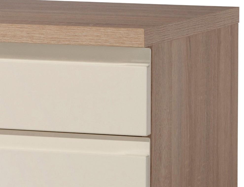 Küchen-Unterschrank CARDIFF - 2-türig - 100 cm breit - Hochglanz ...