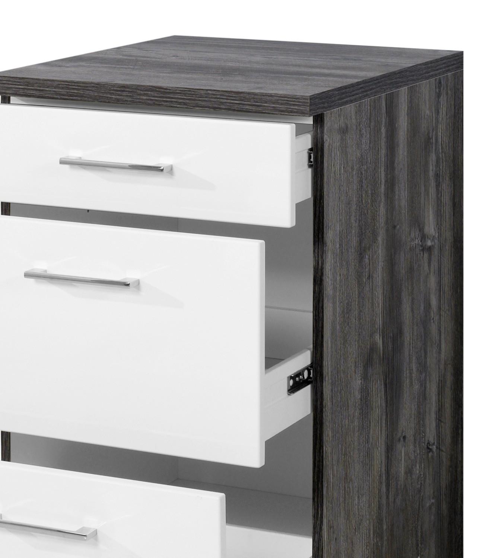 Küchen-Unterschrank LISSABON - 3 Schubladen - 50 cm breit ...