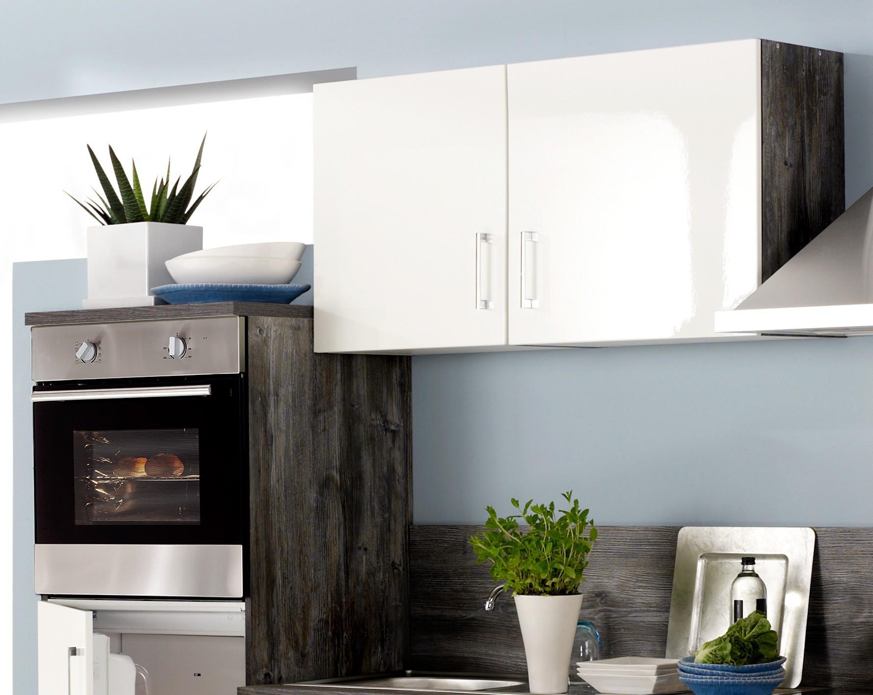 k chenzeile lissabon k che mit e ger ten breite 280 cm. Black Bedroom Furniture Sets. Home Design Ideas
