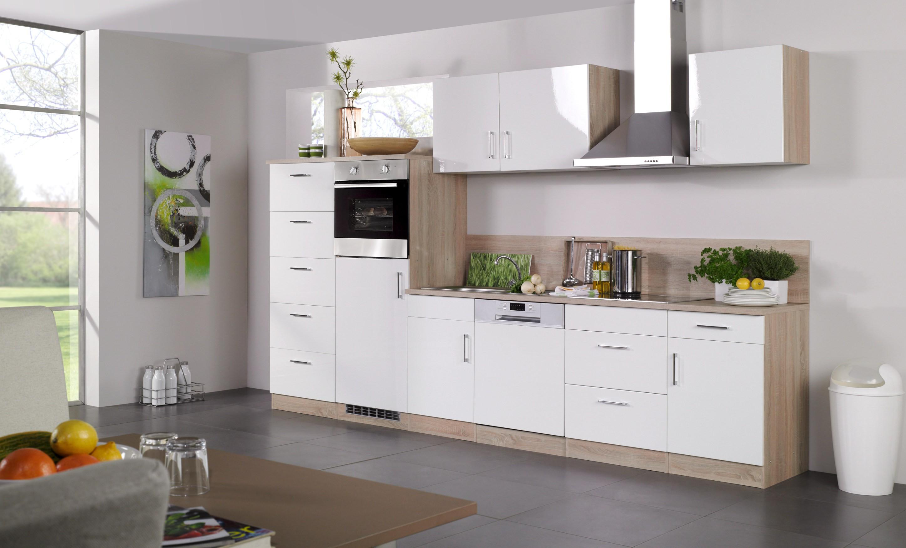 k chen midischrank lissabon 5 ausz ge 60 cm breit wei eiche sonoma k che k chen. Black Bedroom Furniture Sets. Home Design Ideas