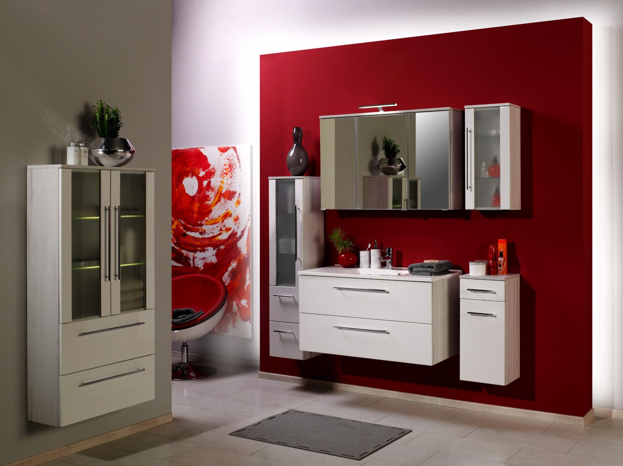 Mailand--polareiche--Grossansicht Wunderschöne Spiegelschrank Bad 60 Cm Dekorationen