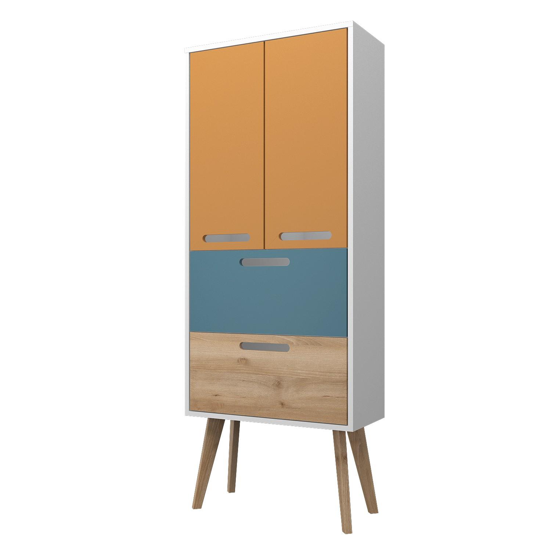 badm belset malm badset retro mit waschtisch und spiegel 160cm gelb blau ebay. Black Bedroom Furniture Sets. Home Design Ideas