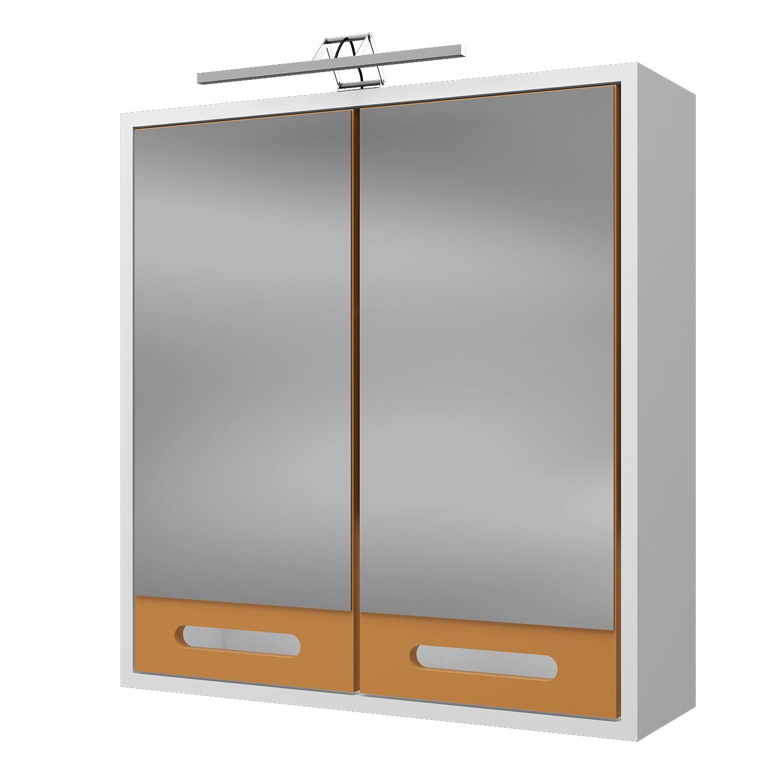 Badmöbel Set MALM– mit Waschtisch 6 teilig 120 cm breit