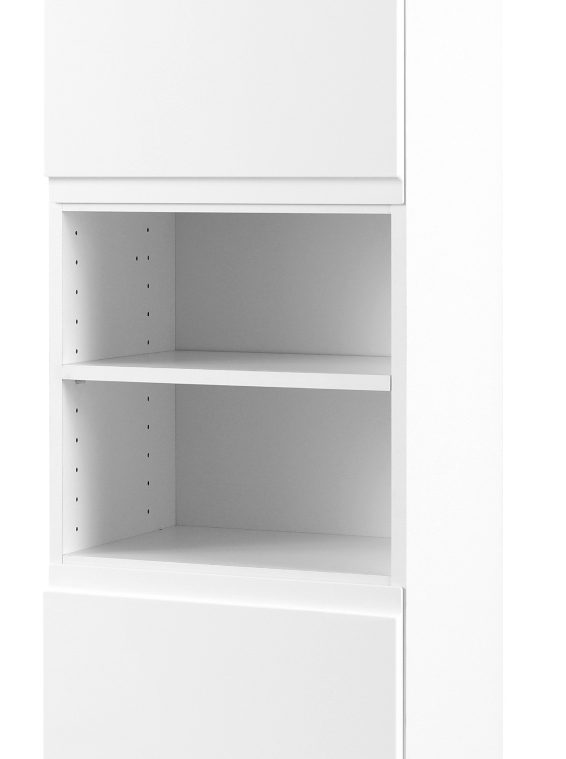 badezimmer hochschrank cardiff seitenschrank 40 cm weiss ebay. Black Bedroom Furniture Sets. Home Design Ideas