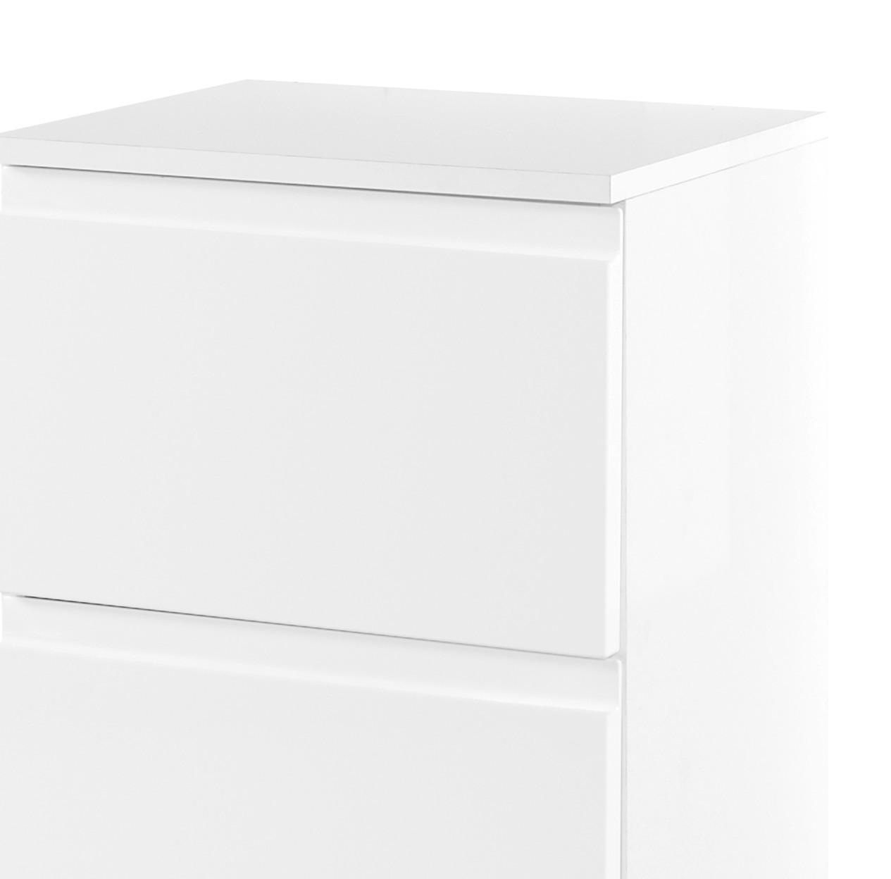 bad unterschrank cardiff 3 schubladen 40 cm breit hochglanz wei bad bad unterschr nke. Black Bedroom Furniture Sets. Home Design Ideas