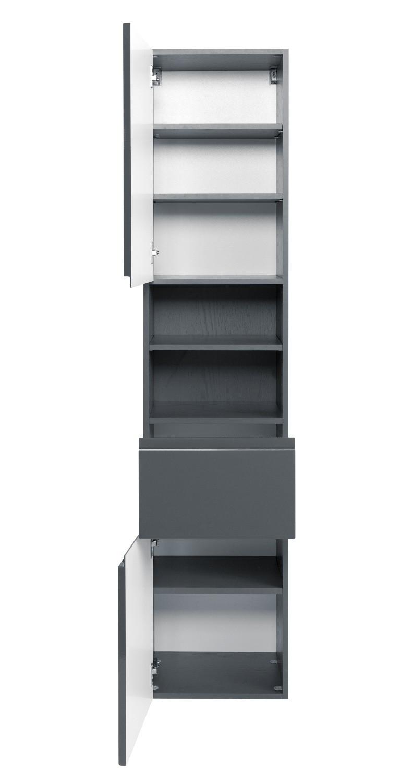 bad-hochschrank cardiff - 2-türig, 1 schublade - 40 cm breit, Badezimmer ideen