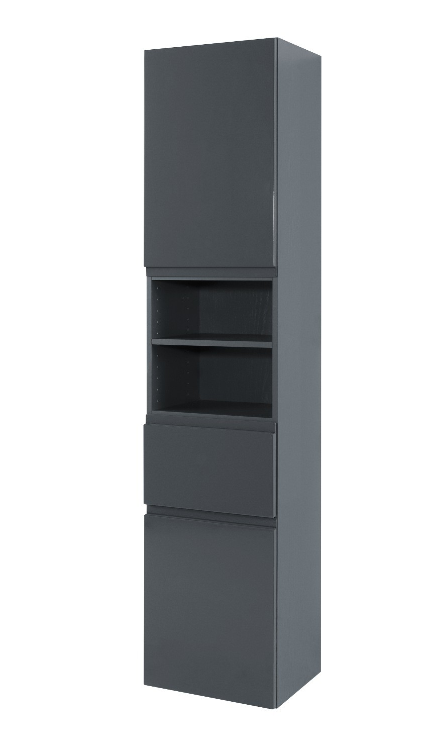 bad hochschrank cardiff 2 t rig 1 schublade 40 cm. Black Bedroom Furniture Sets. Home Design Ideas