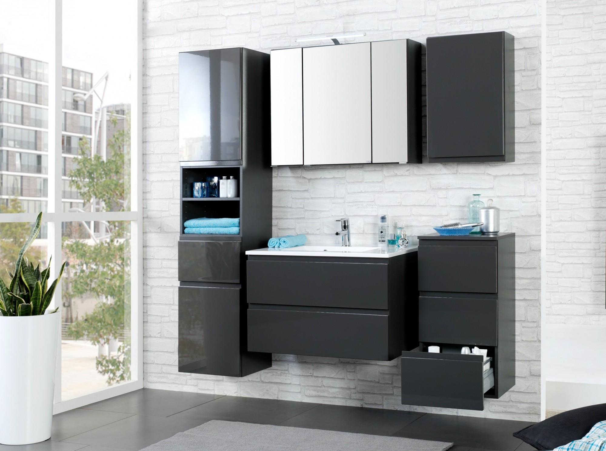 bad h ngeschrank cardiff 1 t rig 40 cm breit. Black Bedroom Furniture Sets. Home Design Ideas
