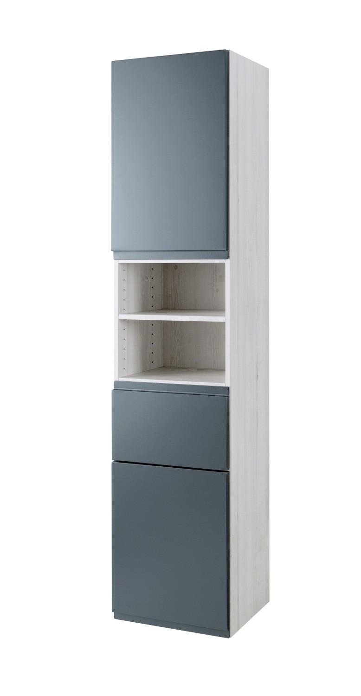 bad hochschrank cardiff 2 t rig 1 schublade 40 cm. Black Bedroom Furniture Sets. Home Design Ideas