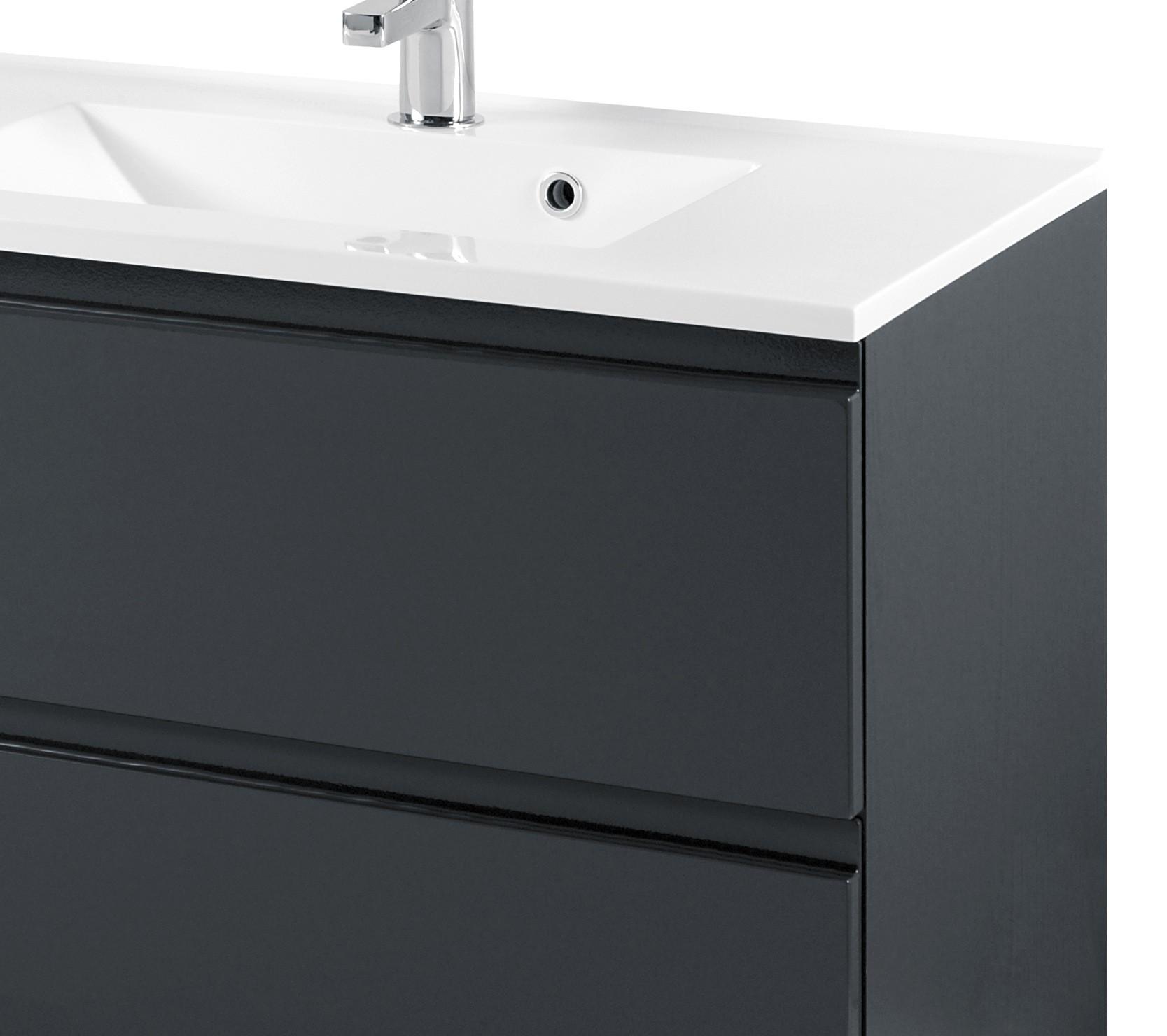 badm bel set cardiff mit waschtisch 4 teilig 80 cm breit hochglanz grau bad badm belsets. Black Bedroom Furniture Sets. Home Design Ideas