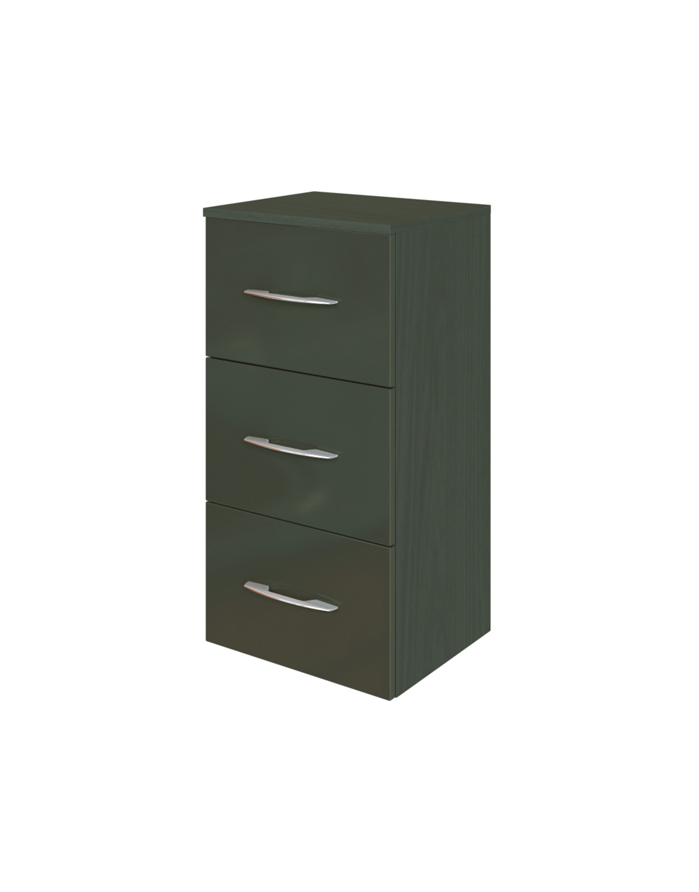 bad unterschrank florida 3 ausz ge 40 cm breit. Black Bedroom Furniture Sets. Home Design Ideas