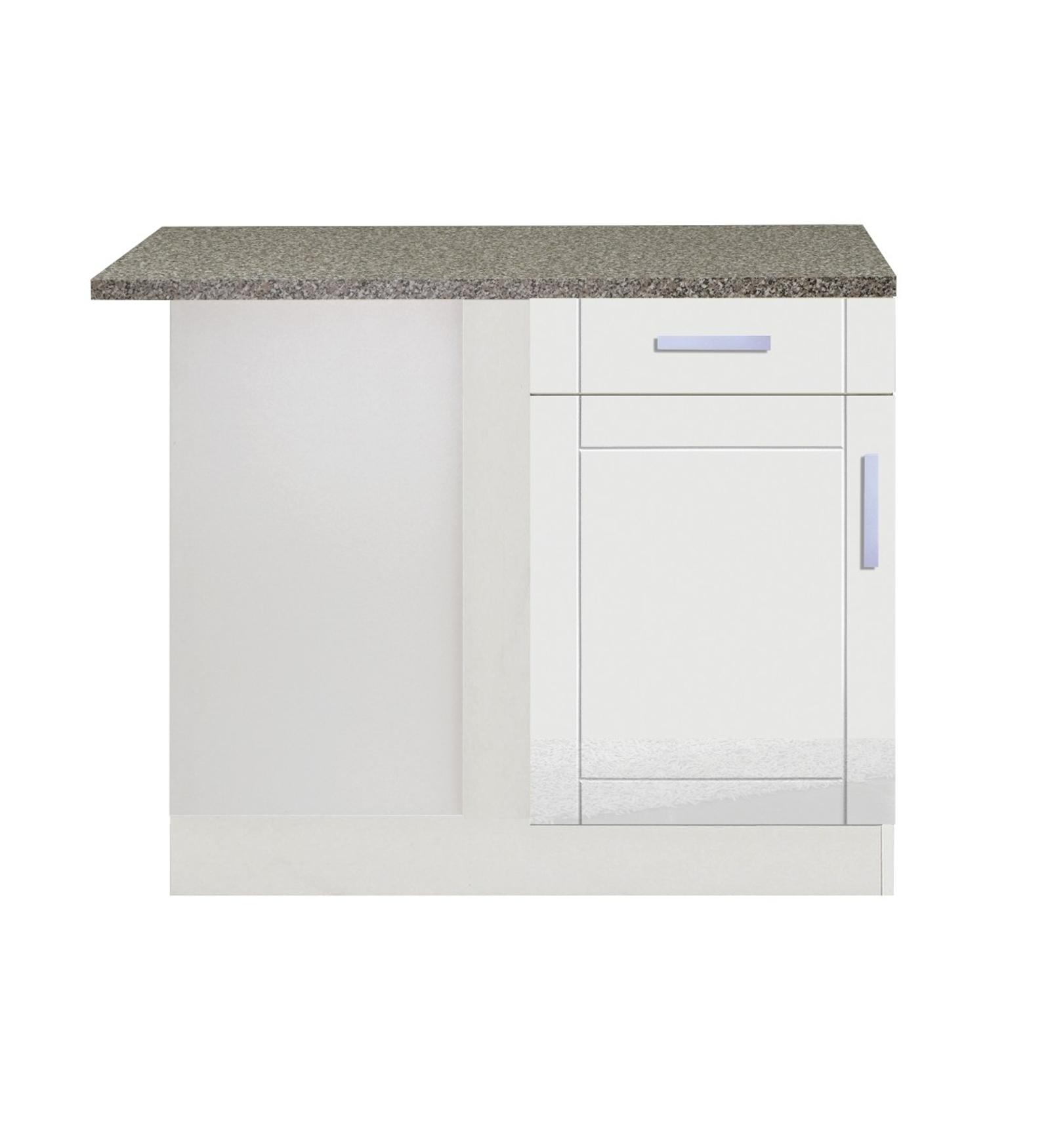 k chen eckunterschrank varel 1 t rig 110 cm breit. Black Bedroom Furniture Sets. Home Design Ideas