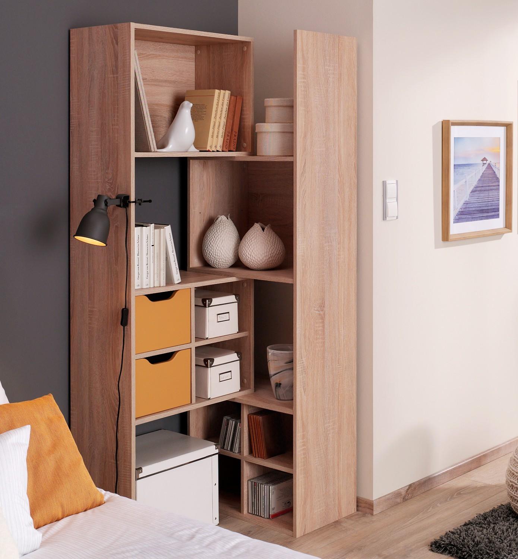 eckregal mit tren fabulous wohnwand schwarz ikea schn on moderne deko ideen mit regale kallax. Black Bedroom Furniture Sets. Home Design Ideas