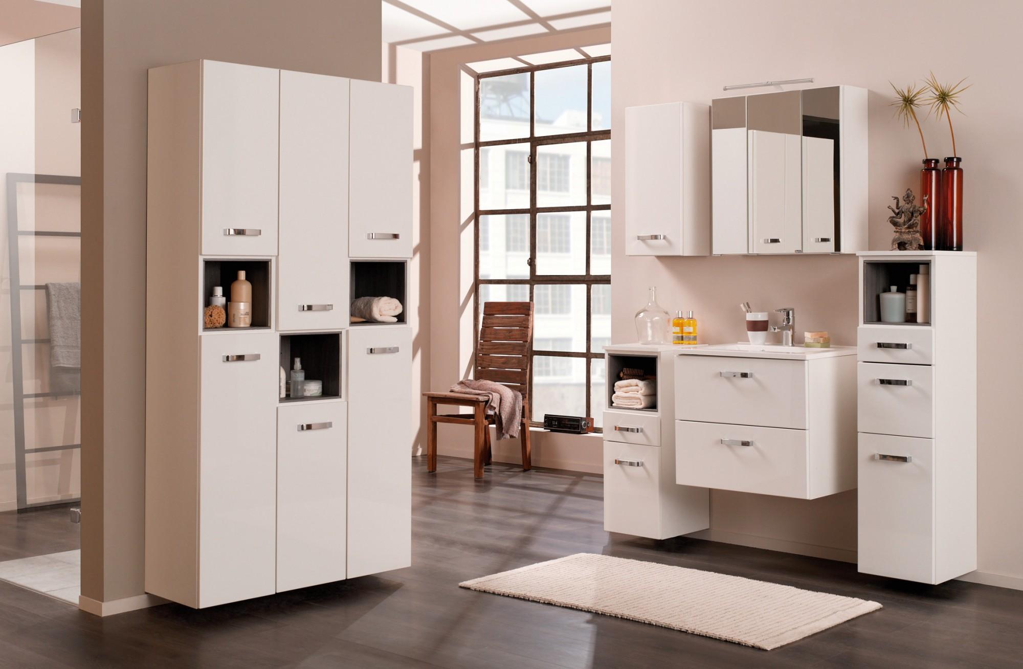 bad unterschrank ancona 1 t rig 1 schublade 30 cm breit hochglanz wei bad bad unterschr nke. Black Bedroom Furniture Sets. Home Design Ideas