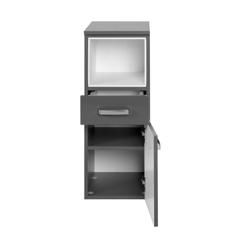 badm bel set ancona 5 teilig 90 cm breit hochglanz grau bad badm belsets. Black Bedroom Furniture Sets. Home Design Ideas