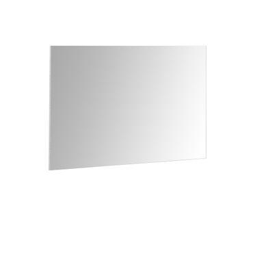 Spiegel MIA - 85 x 60 cm - Vollflächig verspiegelt / Beton-Grau